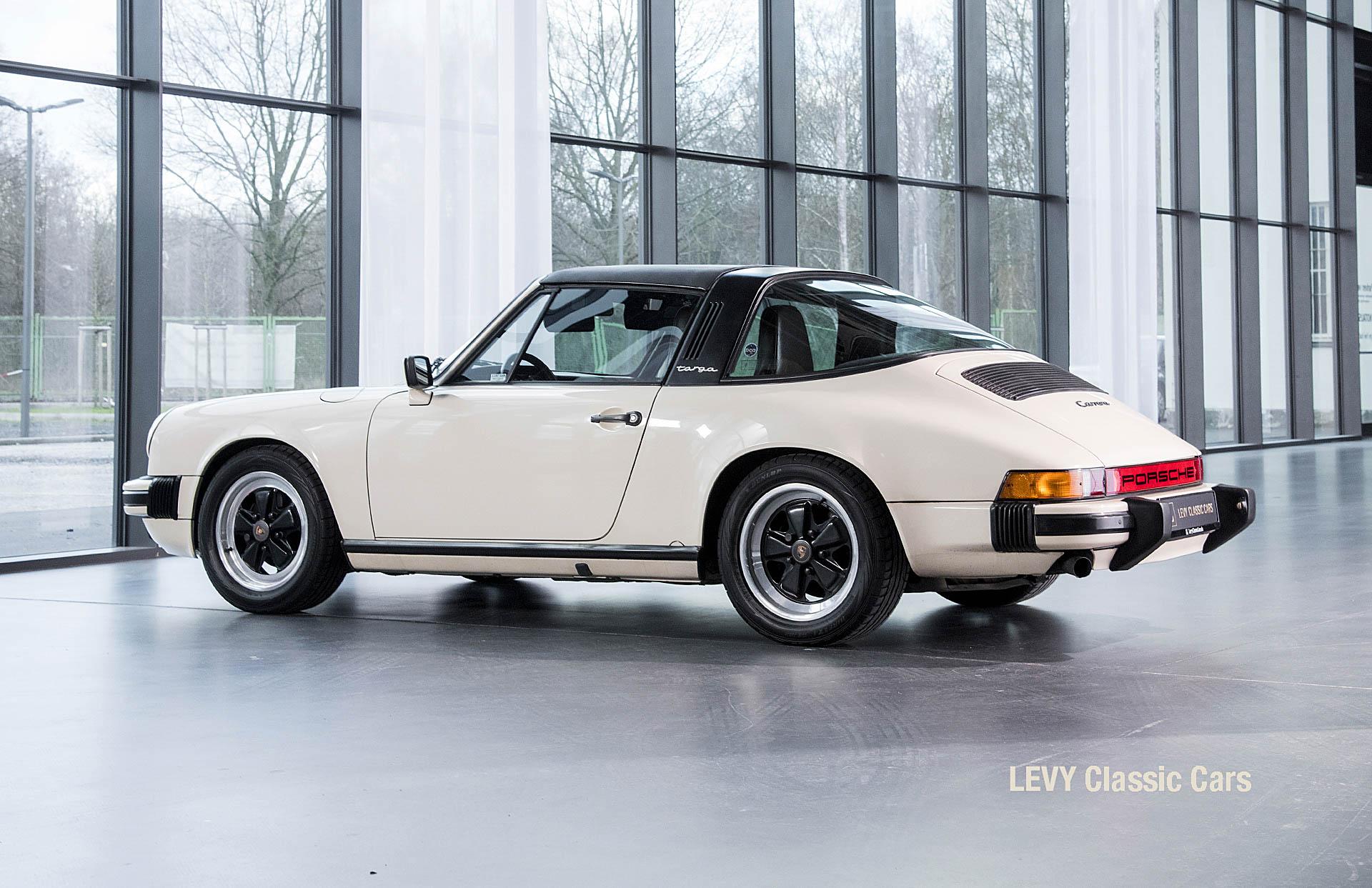 geschaerft Porsche Carrera Targa Altweiss 60575_80