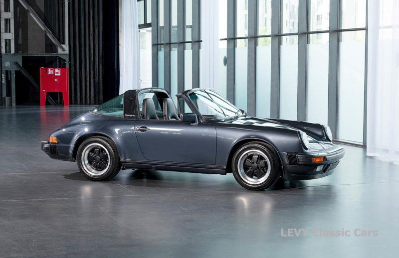 Porsche 911 Targa blau 61547 09