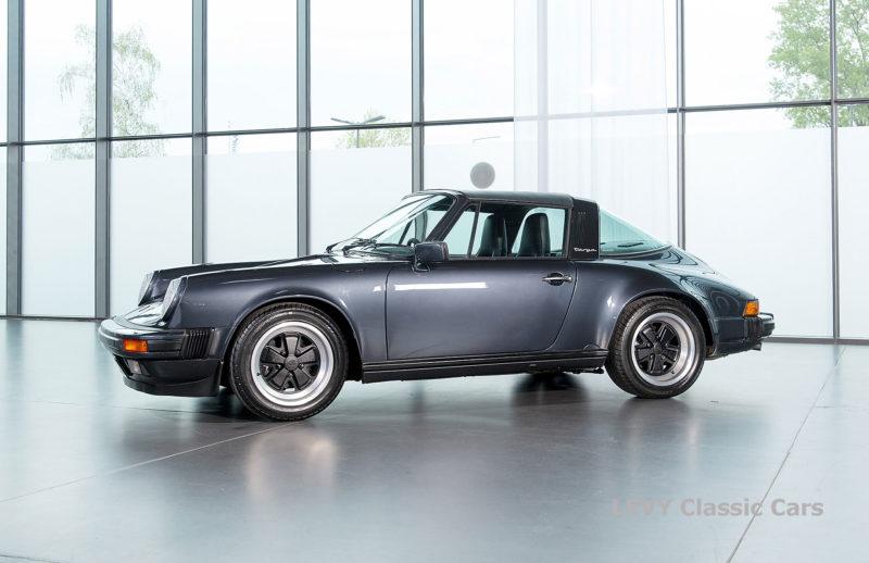Porsche 911 Targa blau 61547 73