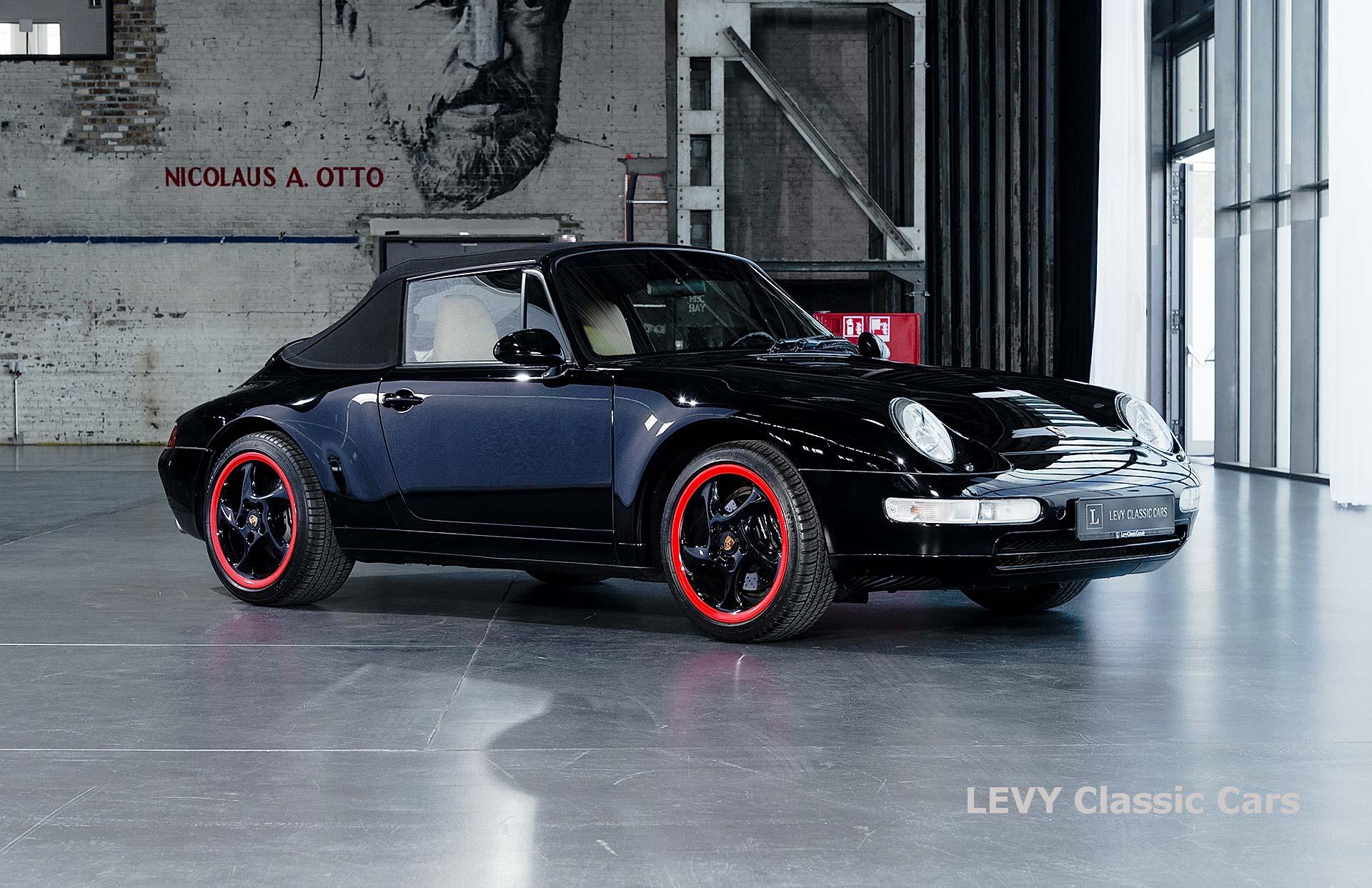 heller Porsche 993 schwarz 42065 002