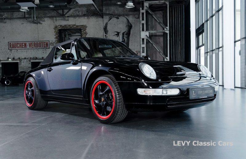 heller Porsche 993 schwarz 42065 004