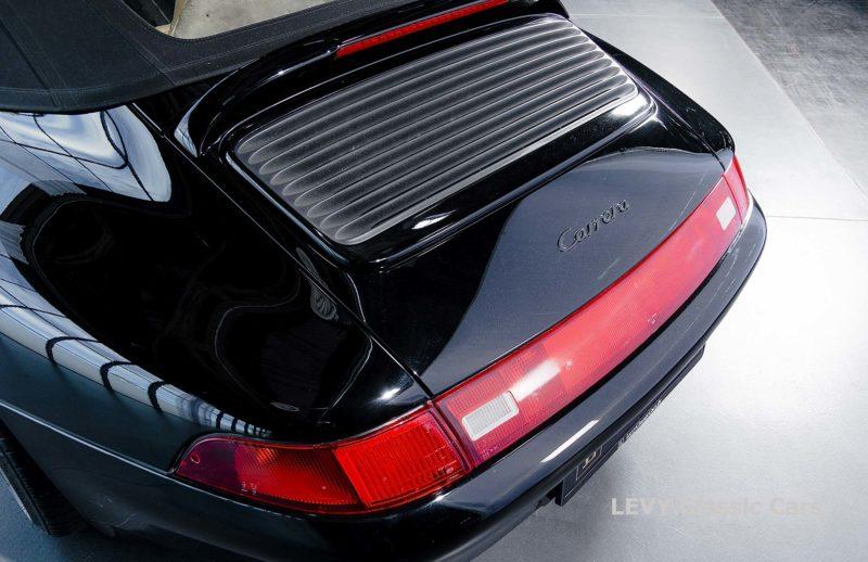 heller Porsche 993 schwarz 42065 010
