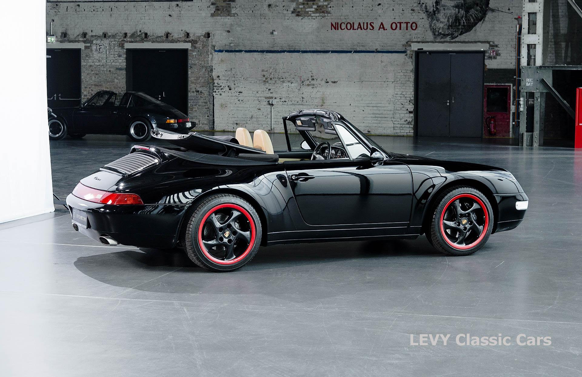 heller Porsche 993 schwarz 42065 030