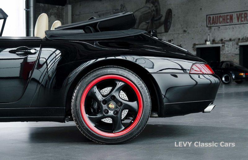 heller Porsche 993 schwarz 42065 053