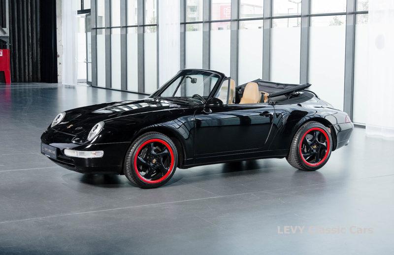 heller Porsche 993 schwarz 42065 058