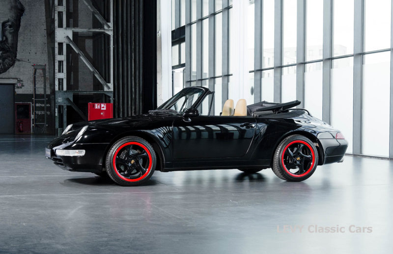 heller Porsche 993 schwarz 42065 059