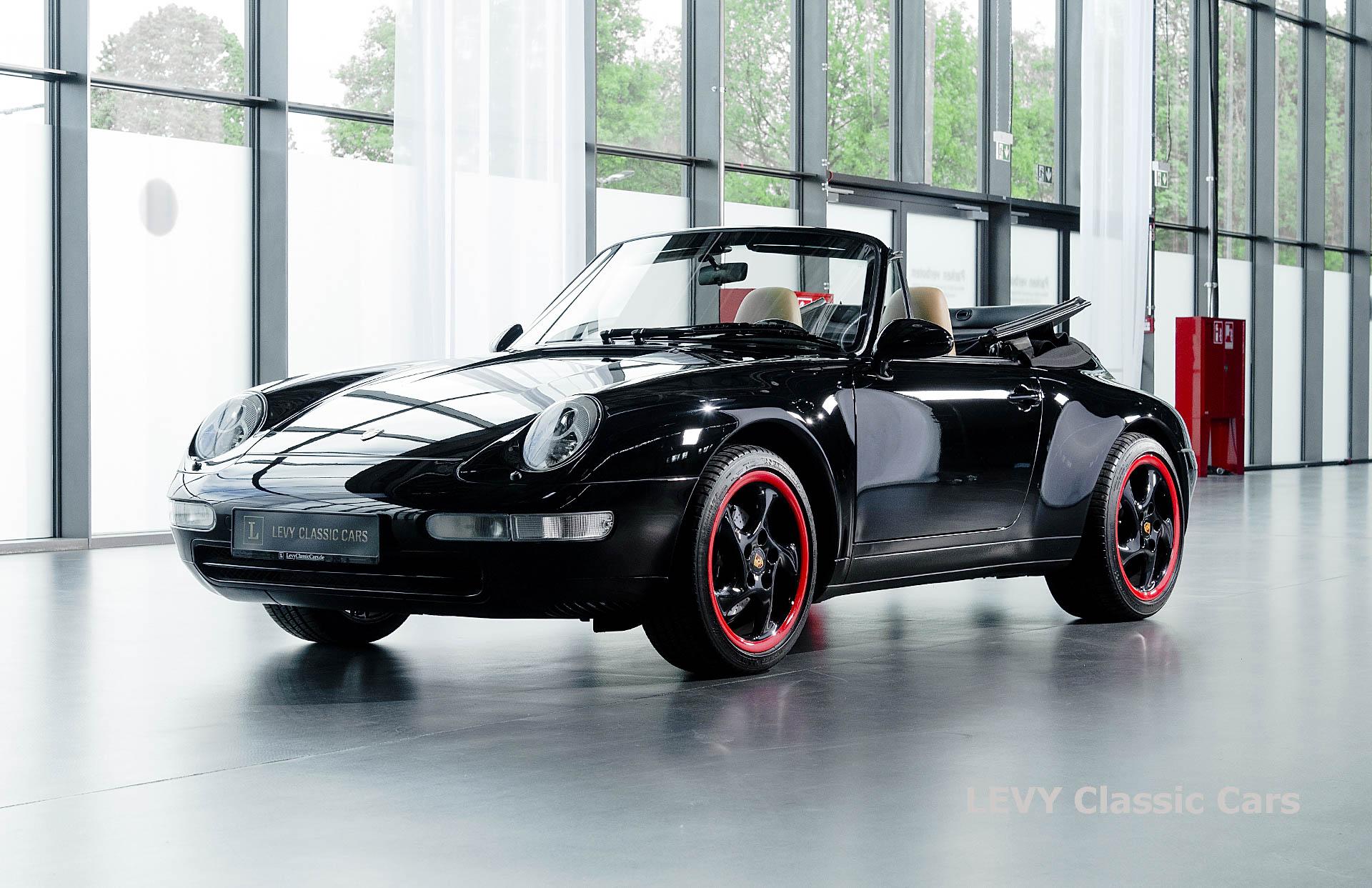 heller Porsche 993 schwarz 42065 067