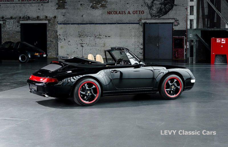 heller Porsche 993 schwarz 42065 077