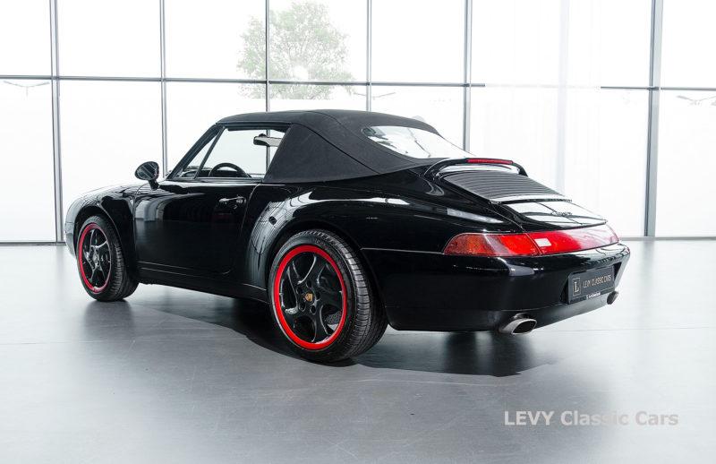 heller Porsche 993 schwarz 42065 080