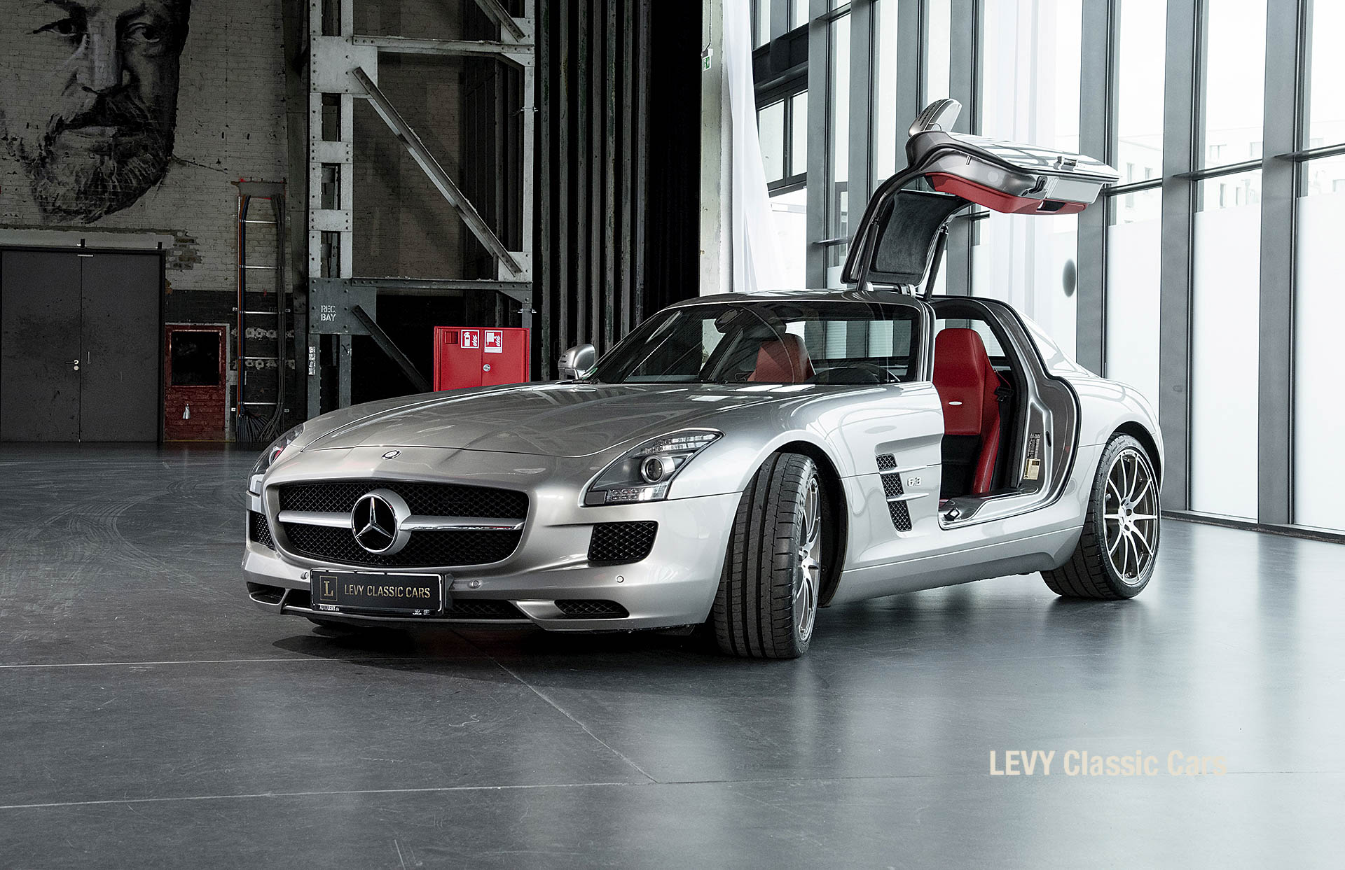 MB SLS AMG 6,3 Coupe 05633 069