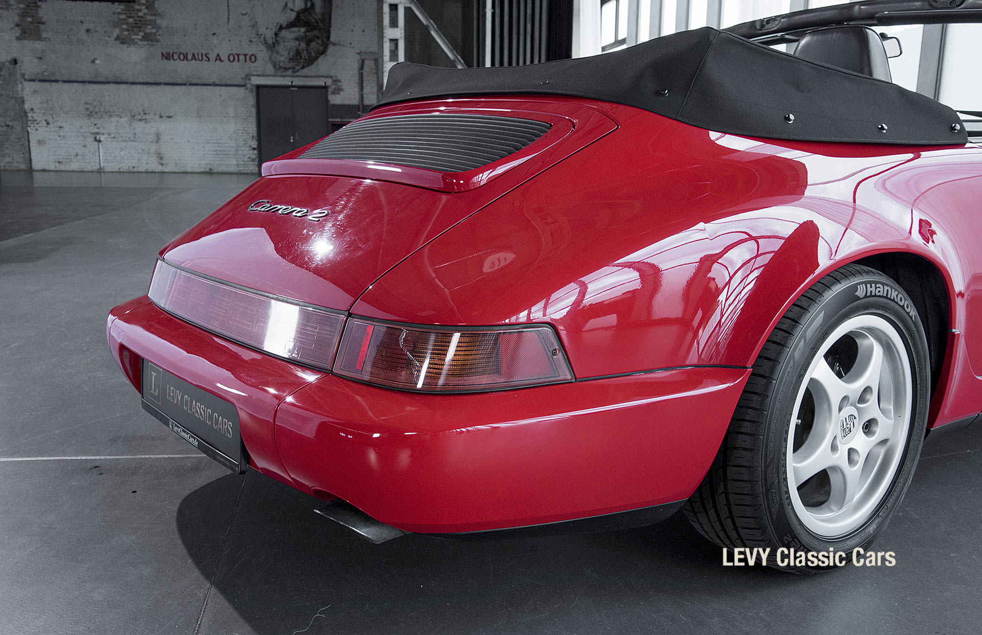 Porsche Rot 964 CC22631 050