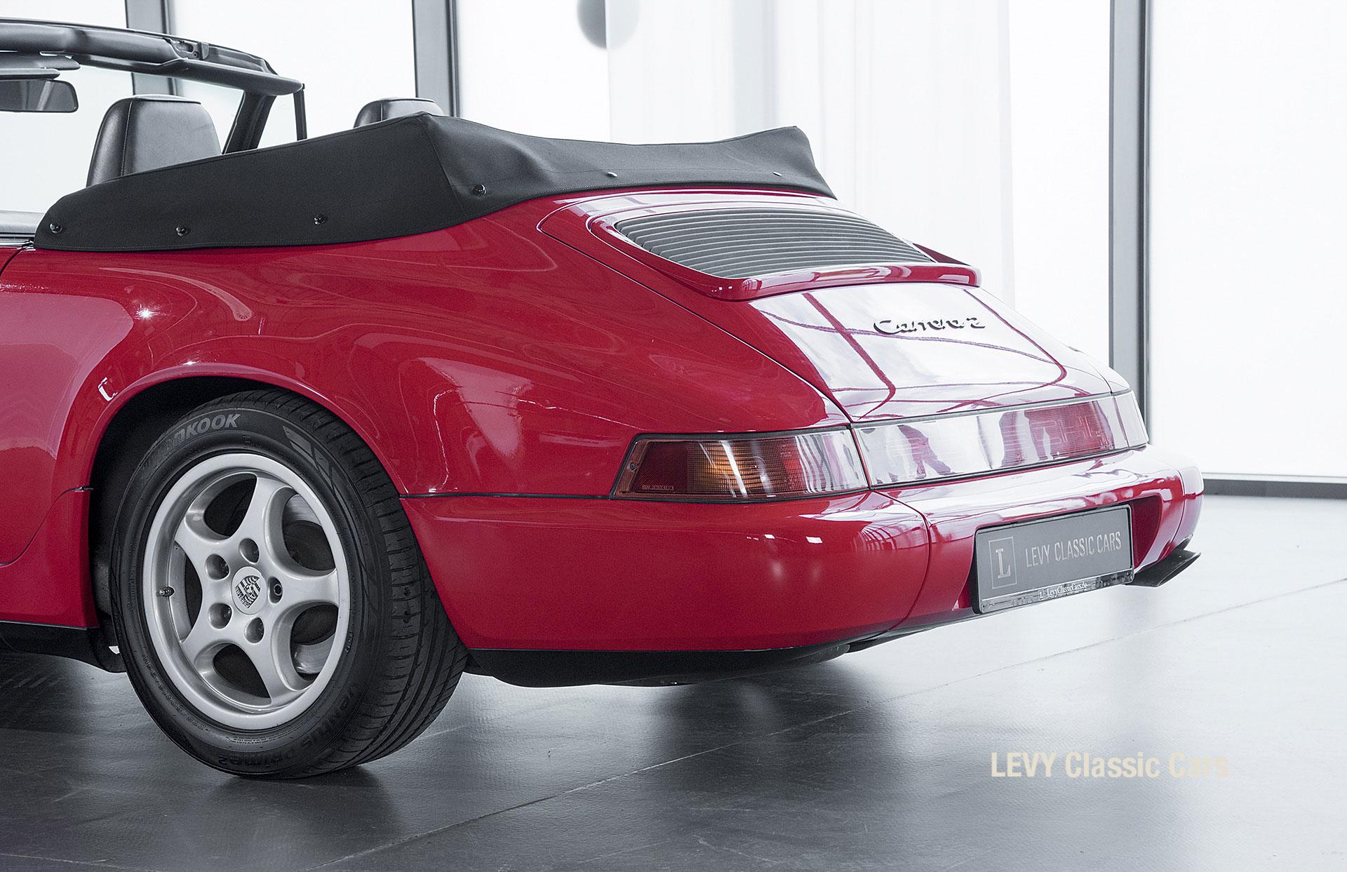 Porsche Rot 964 CC22631 058