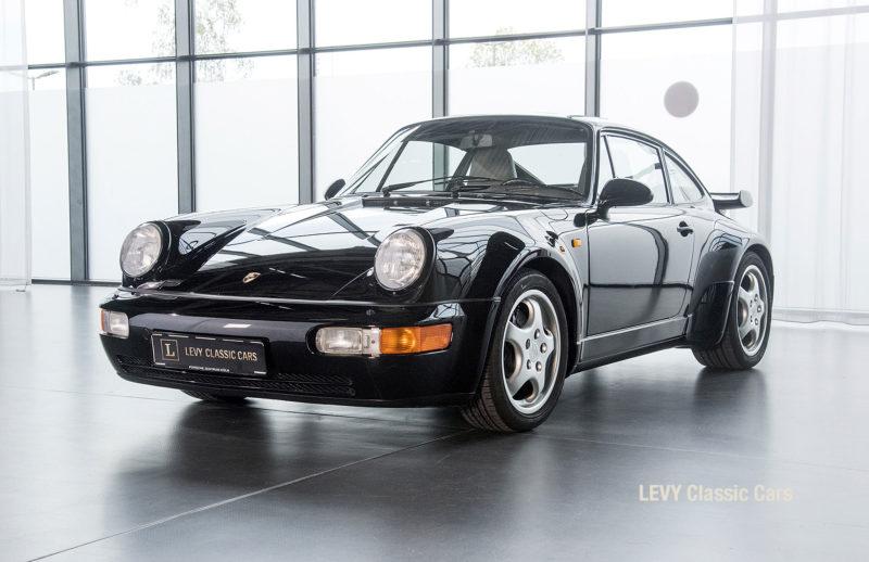 Porsche Turbo 72200 schwarz 86