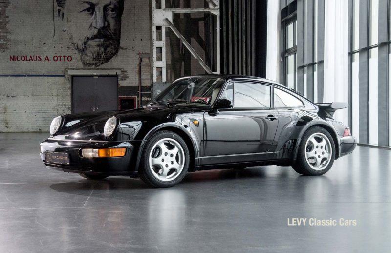 Porsche Turbo 72200 schwarz 87