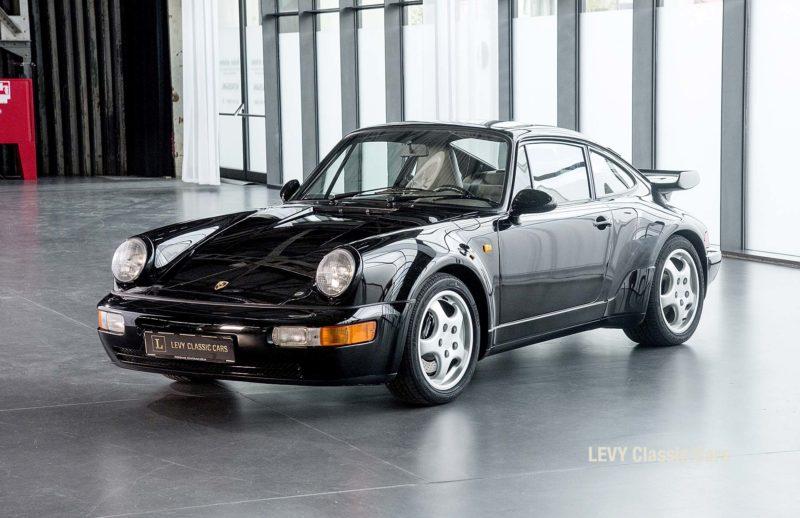 Porsche Turbo 72200 schwarz 88